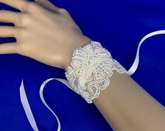Pink Lace Jewelry, Pink Lace Bracelet, Pink Bridesmaid Bracelet, Pink Bridesmaid Jewelry, Flower Girl Jewelry, Flower Girl Bracelet