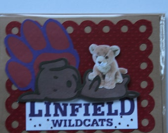 Linfield College Greeting Card-2