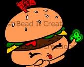 Shopkin Inspired Cheddar Die Cut File