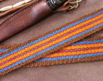 Handwoven Strap for Bag, Rifle, Quiver, Powder Horn or Wearing Sash