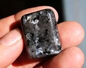 Larvikite Tumbled Stone Black Moonstone Extra Large Size