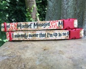 Marauder's Map Mischief Managed I Solemnly Swear I'm Up to No Good Footprint Geeky Dog Collars
