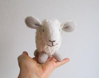 Small lamb, organic toy