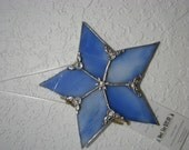 Shades of Blue 5 point star