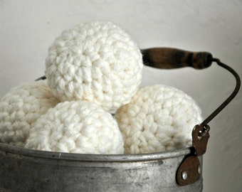 Set of Indoor Snowballs Holiday Home Decor Fun Winter Accent Decorative Snowball Touch of Whimsy
