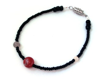 Moons of Mars Bracelet - Proportional Distances - Planet Bracelet - Statement Bracelet