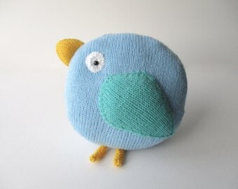 Bella Bird Cushion Knitting Patterns