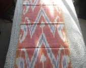IKAT cotton hand woven colorful ethnic fabric home decor sewing supplies from MyGypsyCottage on Etsy