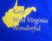 Keep West Virginia Wonderful Tote Bag