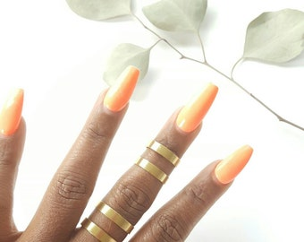 Pair of gold band rings//wide gold band rings//adjustable gold ring//set of 2//double band ring//
