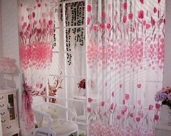 Tulle Window Curtains (2)