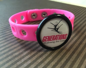 Custom Design - Colorful Charm Bracelet