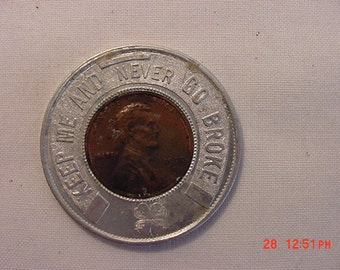 Vintage Good Luck Penny Coin Token 1970  Wilmington Ohio    16 - 242