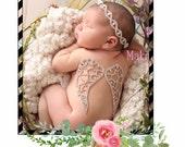 Rhinestone wings, newborn rhinestine wings , rhinestine wing props , newborn wings keepsake newborn wings
