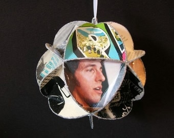 Bruce Springsteen Album Cover Ornament Made Of Record Jackets