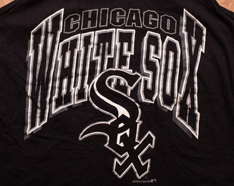 Chicago White Sox Tank Top, MLB Sleeveless Muscle Shirt, Vintage 90s