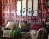 Airplane Decor, Pilot Gift, Aviation, Flight Attendant, Plane Wall Decor, Airplane Art, Ships Free