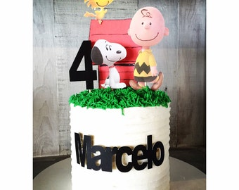 Peanuts Cake Topper Package