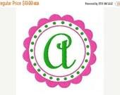 SALE INSTANT DOWNLOAD Circle Dainty Machine Monogram Embroidery Font Design Set