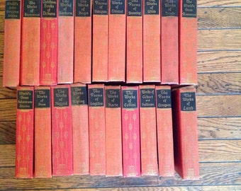 Vintage 1920's 30's Black's Readers Set of 21 Library Books