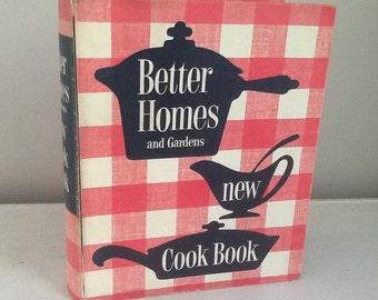 Vintage Better Homes and Gardens Cookbook / Vintage Cookbook / 60's Cookbook