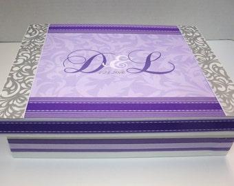 Engagement, Anniversary or Wedding Momento Box