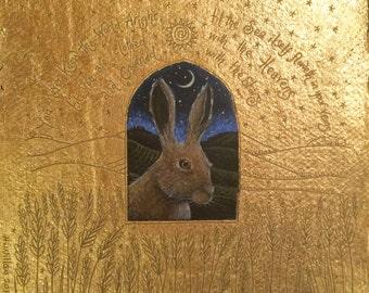 Window on the wild land. Open edition print