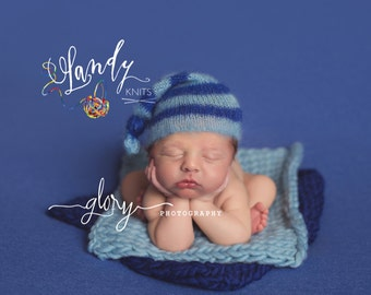 Layering blanket, basket stuffer, newborn photo prop