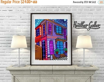 55% Off- New Orleans art Art Print Poster by Heather Galler