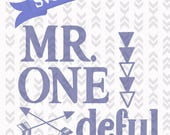 Mr Onedeful First Birthday SVG PNG DXF Cutting file first birthday cutting craft file digital instant download Mr Onederful digital File Svg