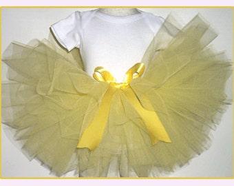 Yellow Tutu, Bright Yellow Tutu, Yellow Baby Tutu, Yellow Toddler Tutu, Yellow Childs Tutu, Yellow Tutu Newborn-Girls 6