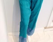 Vintage Cotton Turquoise ...