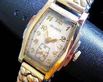 LeCoultre Made Hallmark Swiss Watch - c.1930's