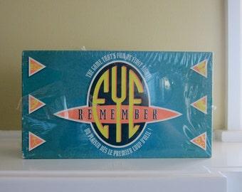 1996 Eye Remember Board Game - Unopened