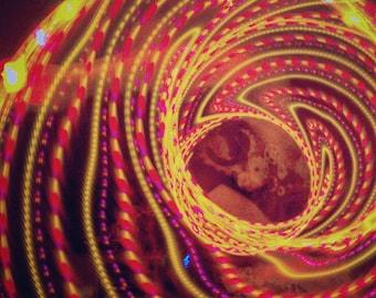 HIBISCUS Strobe LED Hula Hoop - CUSTOM!