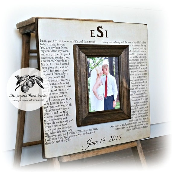 Wedding Gift Picture Frames : ... Gifts Guest Books Portraits & Frames Wedding Favors All Gifts