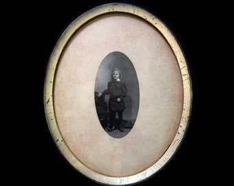 Antique Photograph of Young Privileged Southern Boy William Henry Irvine