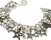 David Bowie Ziggy Stardust Charm Bracelet - STARMAN - limited edition Etsy uk
