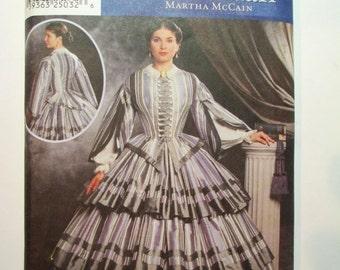 Simplicity 9761 - 1860's Dress pattern * size HH (6,8,10,12)*