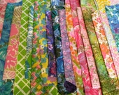 Quilting Fabric Vintage Prints Sheets Sheeting Quilt 70 pieces