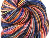 LION'S MANE JELLYFISH Superwash Merino Wool/Nylon/Stellina Sparkle Fingering/Sock Yarn - 438 yards