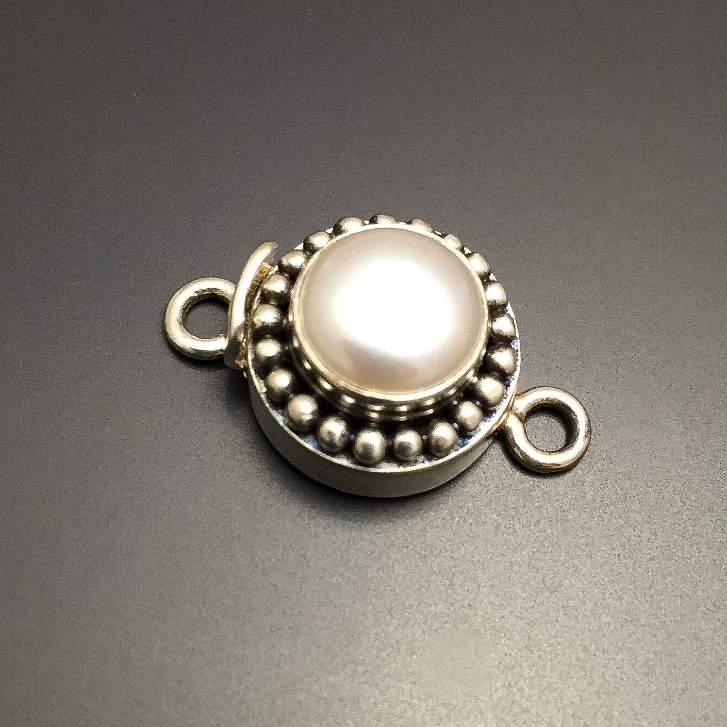 sterling silver pearl clasp sterling silver jewelry findings
