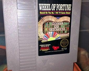 1980's NES nintendo Wheel of Fortune video game RAD
