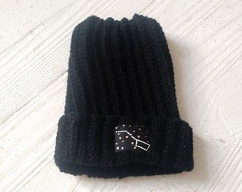 Big Dipper Beanie in Black