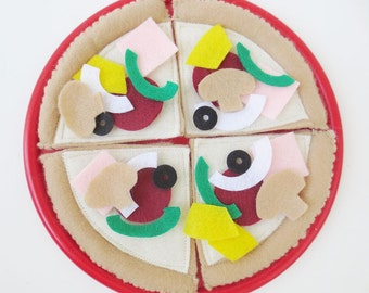 Deluxe Felt Food Pizza SALE