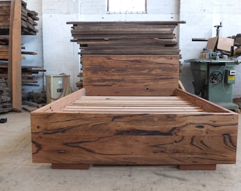 Recycled Hardwood Bed