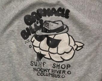 vintage Barnacle Bills surf shop sweatshirt