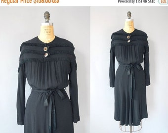 30%OFF 1930s Dress / Fringe and Jewel Dress / 30s