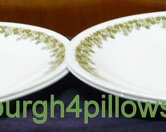 2 Corelle Flat Rimmed Soup Bowls By Pittsburgh4pillows On Etsy