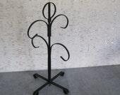 Wrought Iron Mug Tree / Vintage Cup Tree